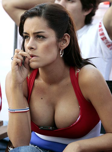 World Cup Body Paint Girls. By Cup#39;s end, Riquelme#39;s