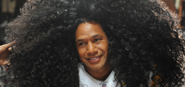 Polamalu Hair head & shoulders