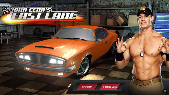 John Cena Car Racing Game