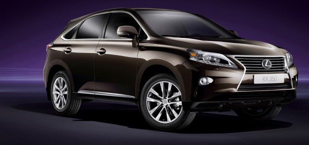 2014 RX 350 Review