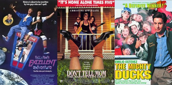 80s Early 90s Movies in The Late 80s/early 90s