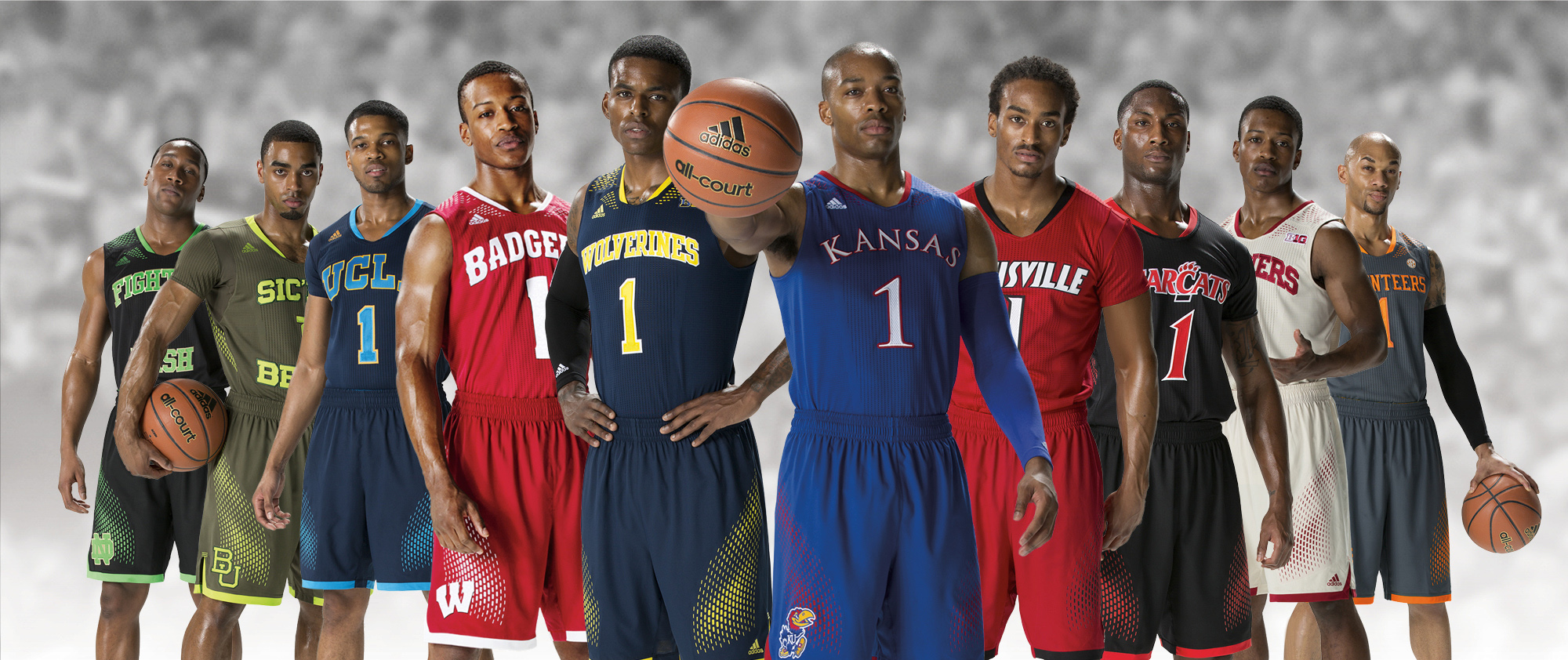 361d1405525f adidas today unveiled the Made in March Uniform System for the 2014 NCAA  basketball ...