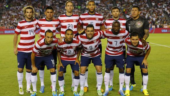 Usa Mens Soccer 2014 Fans Surprise U.S. Men...