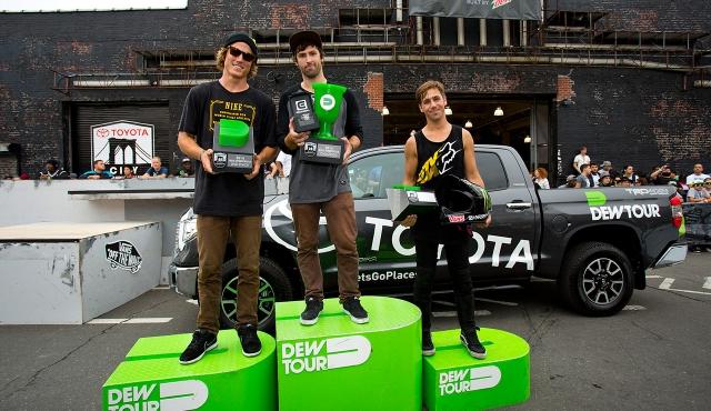 White Ford Fusion Flat Tire >> Dew Tour | MANjr