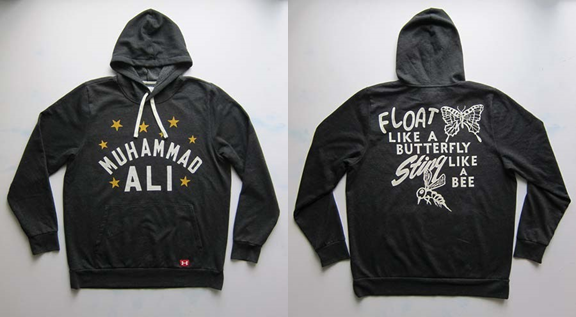 5f22c1f9 This collection has shirts and hoodies that are perfect for training like a  champ or when you are out and about. They pay tribute to Muhammad Ali, ...