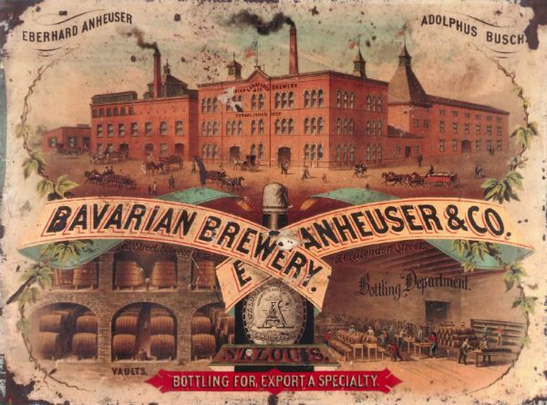 internal and external environments of anheuser busch