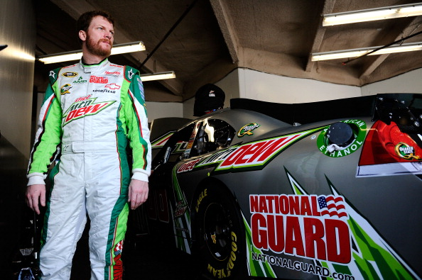 Ride With Dale Jr Mountain Dew Car