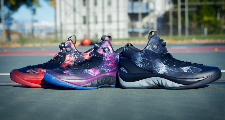 """3e63c184c8e7 Reebok is looking to push the envelope with these new kicks. Reebok  continues to bring heat to the ZPump Rise performance basketball sneaker  with the """"Cloud ..."""