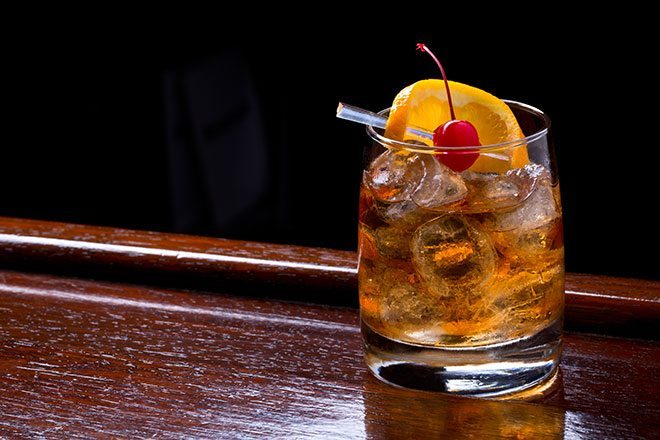 Celebrate The New Year With An Old Fashioned | MANjr